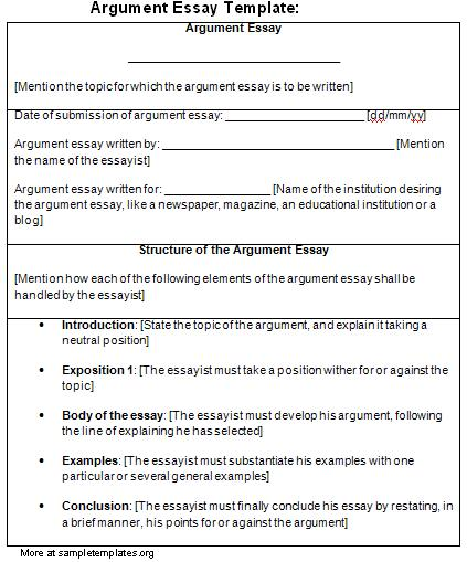 essay argumentative essay high school with argumentative