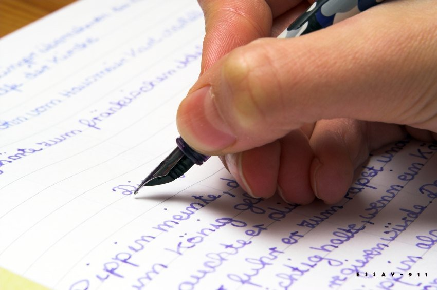 Writing university essay